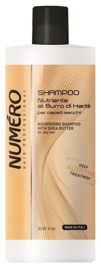 Шампунь с маслом каритэ для сухих волос  Brelil Professional