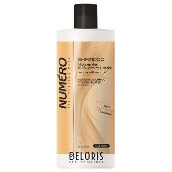 Шампунь с маслом каритэ для сухих волос Brelil Numero