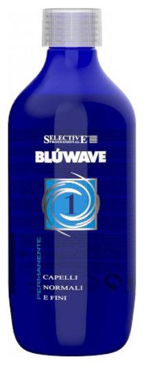 """Состав на основе протеинов кератина для нормальных волос """"Blue Wave 1""""  Selective Professional"""