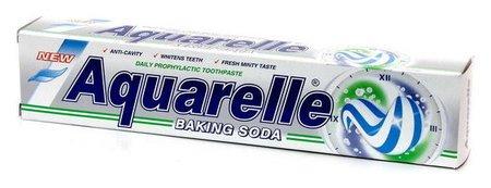 Зубная паста Baking soda  Aquarelle