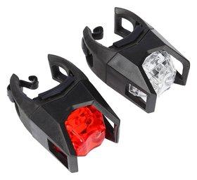 Комплект велосипедных фонарей Jy-3005, 1 диода, 3 функции