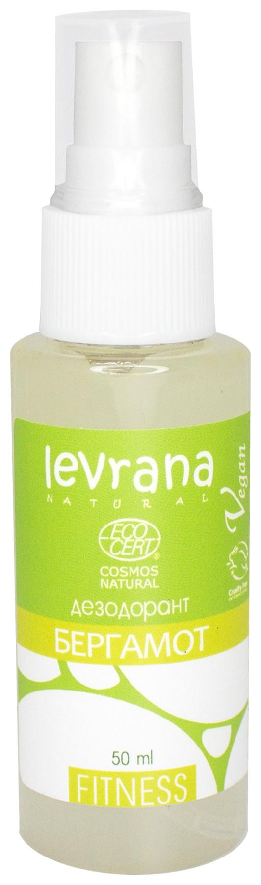 Натуральный дезодорант Бергамот  Levrana