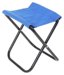 Стул туристический, складной, 22 х 20 х 25 см, до 60 кг, цвет синий