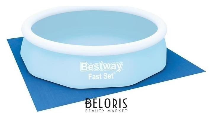 Подстилка для круглых бассейнов, 335 х 335 см, 58001 Bestway Bestway