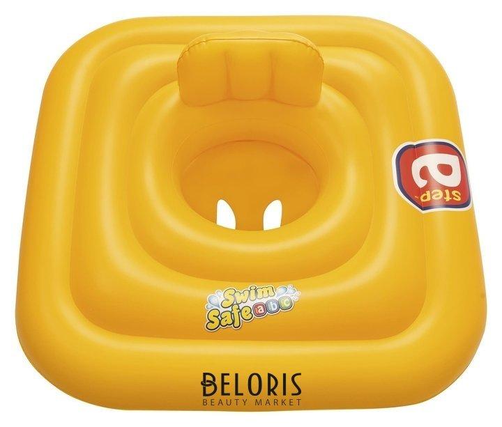 Плотик для плавания Swim Safe, ступень «A», C сиденьем и спинкой, 76 х 76 см, 32050 Bestway Bestway