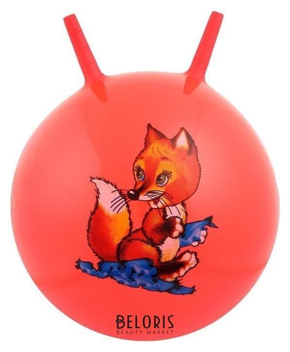 Мяч прыгун с рожками «Сказочные истории», D=55 см, 420 г NNB