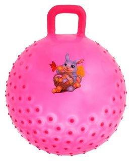 Мяч прыгун с ручкой «Сказочные истории», массажный, D=45 Cм, 350 г  NNB