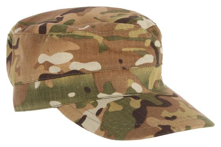 Кепка охотника летняя, цвет мультикам, ткань смесовая рип-стоп, размер 58-60 Huntsman
