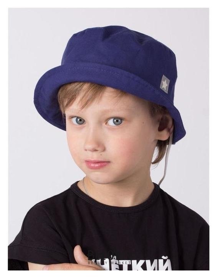 Панамка для мальчика, цвет синий, размер 54-56 Hoh loon