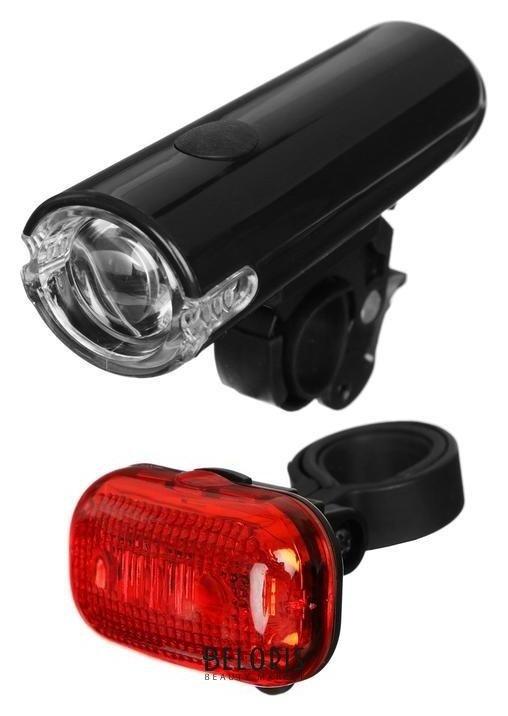 Комплект велосипедных фонарей Jy-345+jy-289t NNB