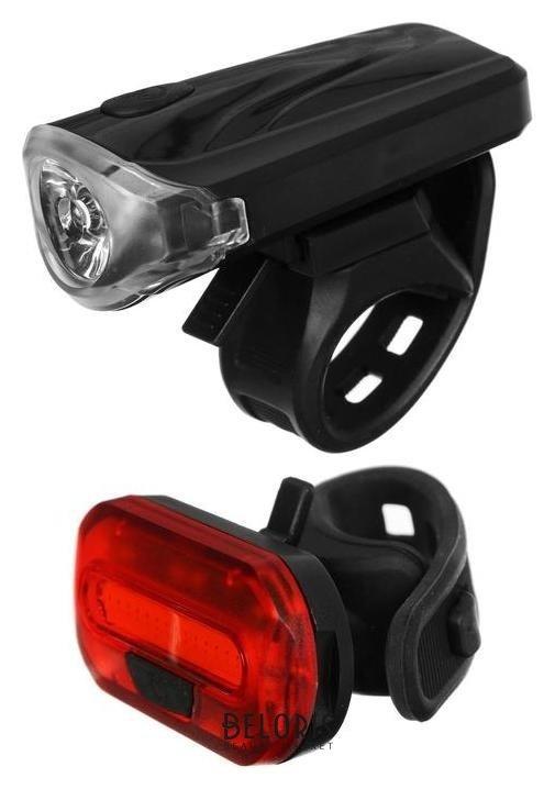 Комплект велосипедных фонарей Jy-7043+jy-6068t NNB