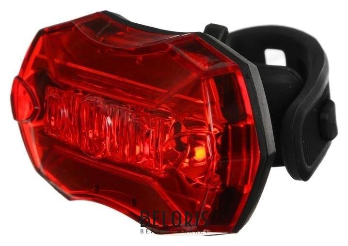 Фонарь велосипедный задний Jy-6090t, 5 красных светодиодов NNB