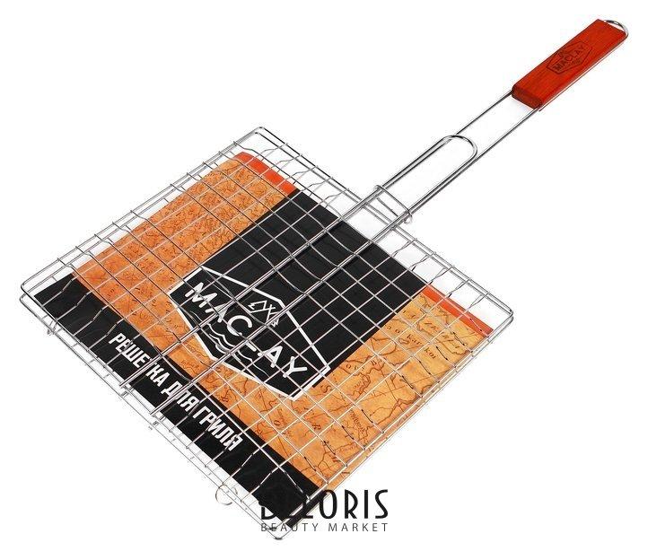 Решетка гриль для мяса 24 х 27 х 55 см, Lux, малая Maclay