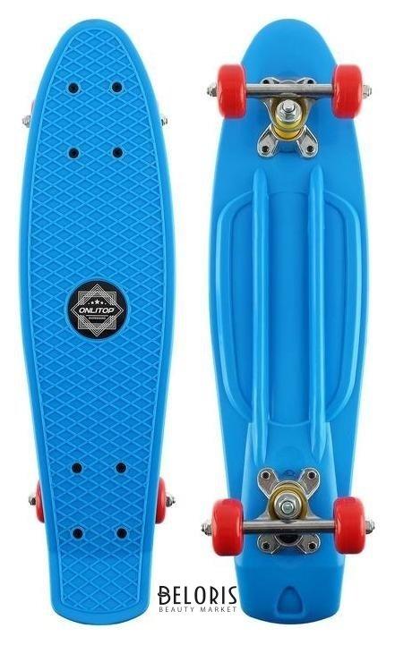 Скейтборд M-450, размер 56x14 см, колеса PVC D=50 мм Onlitop