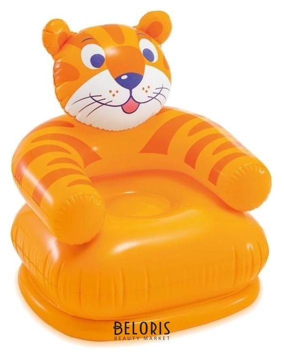 Кресло надувное «Весёлые звери», от 3-8 лет, до 35 кг, 68556np Intex Intex