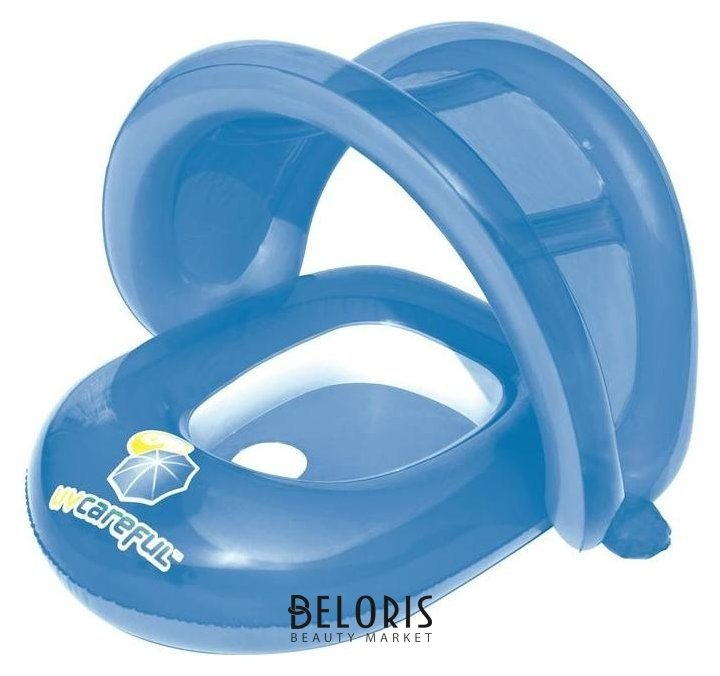 Круг для плавания с сиденьем и тентом от солнца, 80 х 85 см, 34091 Bestway Bestway