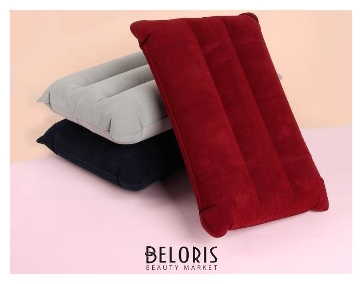 Подушка дорожная, надувная, 42 × 30 см Queen fair