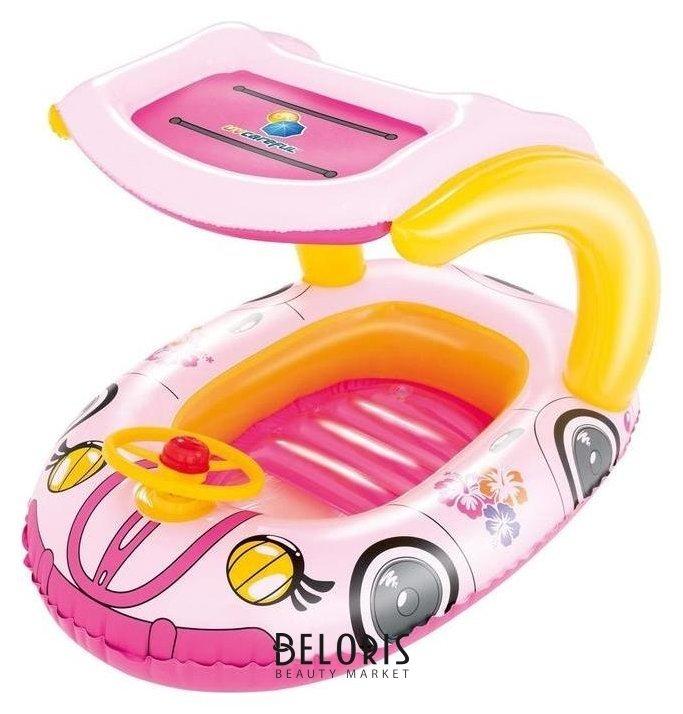 Лодочка для плавания «Машинка» с тентом, 98 х 66 см, от 3-6 лет, от 3-6 лет, 34103 Bestway Bestway