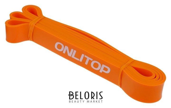 Эспандер ленточный, многофункциональный, 208 х 2,9 х 0,5 см, 11-36 кг, цвет оранжевый Onlitop