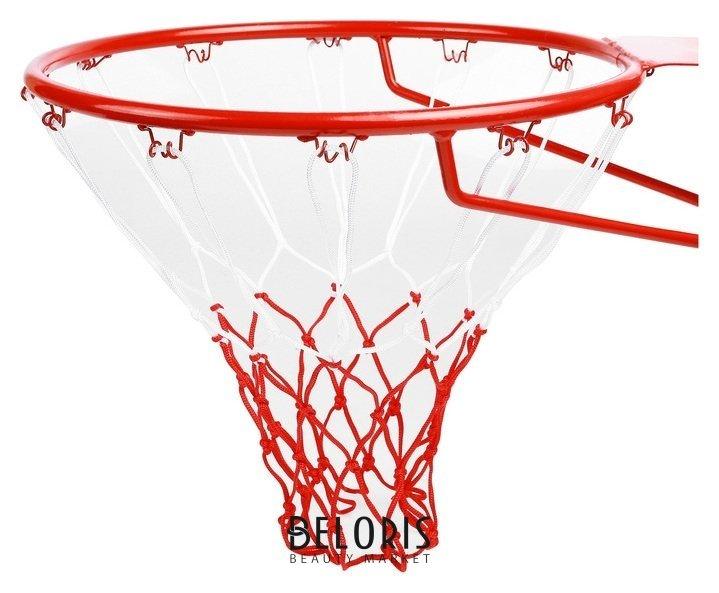 Сетка баскетбольная, 50 см, нить 3 мм, двухцветная, (2 шт) Onlitop