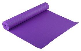 Коврик для йоги 173 × 61 × 0,4 см, цвет тёмно-фиолетовый