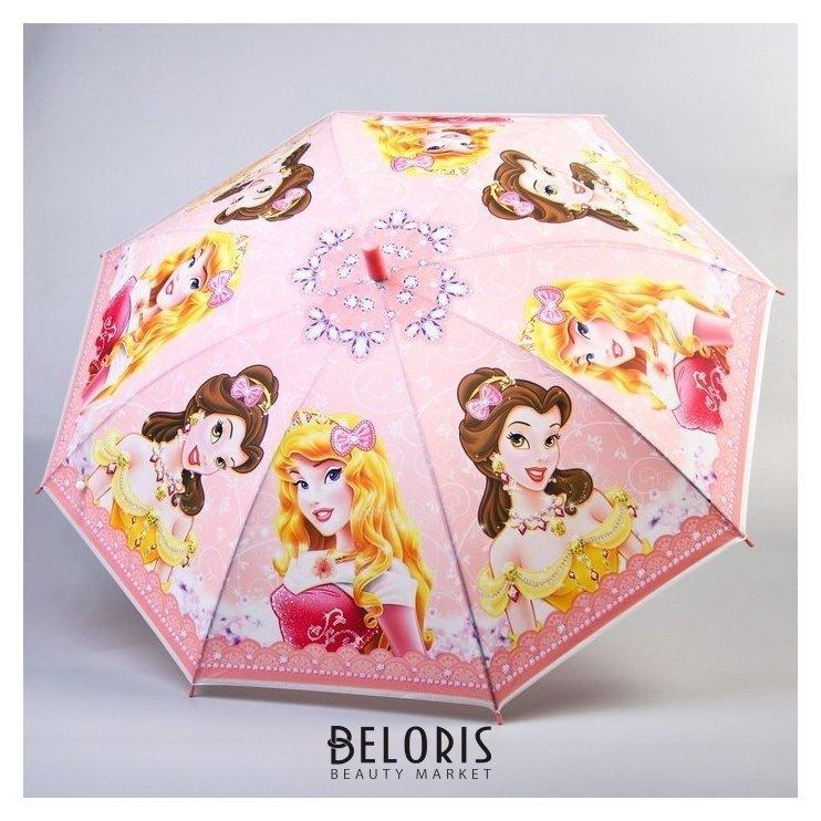 Зонт детский, принцессы, 8 спиц D=87см NNB