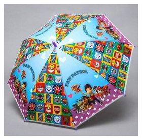 Зонт детский, Paw Patrol, 8 спиц D=87см