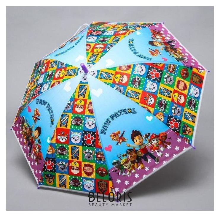 Зонт детский, Paw Patrol, 8 спиц D=87см Paw patrol
