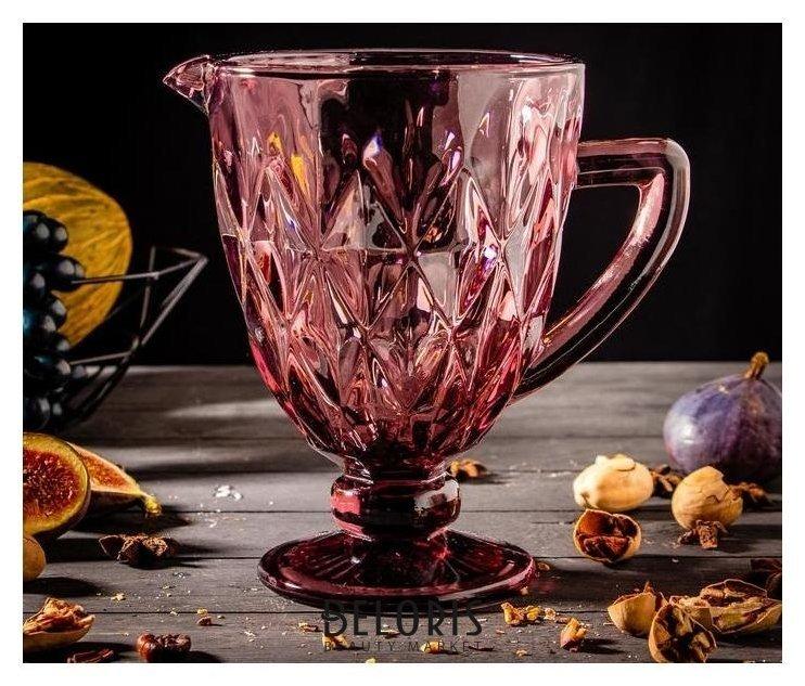 Кувшин Magistro «Круиз», 1,1 л, цвет розовый Magistro