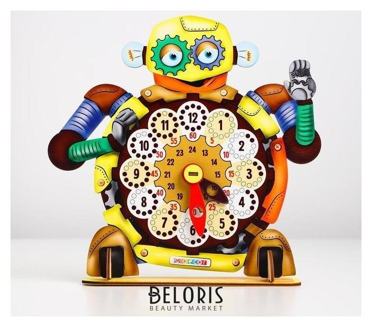 Часы «Робот» Smile Decor