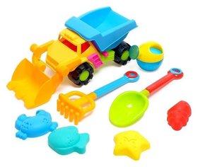 Песочный набор «Супер грузовик», 8 предметов