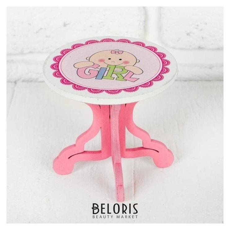 Столик для кукол, размер 9х8х9 см, виды NNB