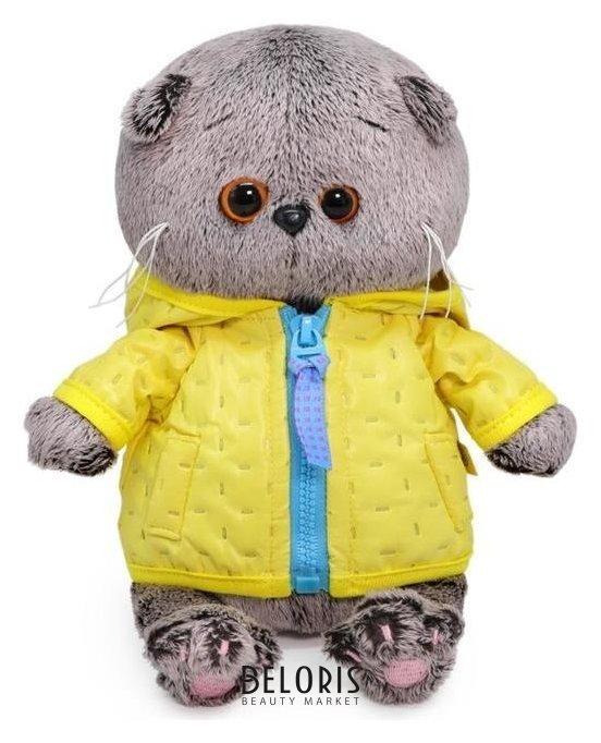 Мягкая игрушка «Басик Baby в стеганой курточке», 20 см Басик и Ко