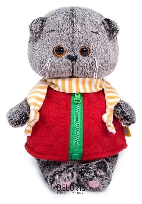 Мягкая игрушка «Басик Baby в стеганом жилете», 20 см Басик и Ко