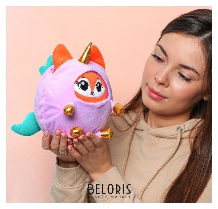 Мягкая игрушка «Лисёнок в костюме единорожки» КНР Игрушки