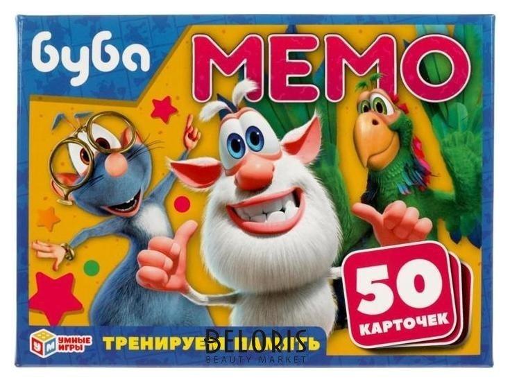 Игра карточная мемо «Буба», 50 карточек 65х95 мм Умные игры