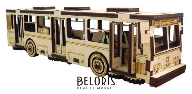 Cборная модель «Автобус» 75 детали Альтаир