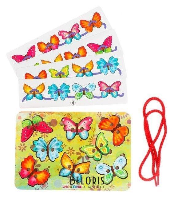 Шнуровка «Бабочки» Smile Decor