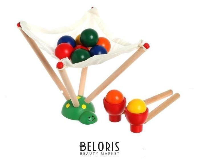 Деревянная игрушка «Вылови шарик», 7,5 × 9,5 × 16,5 см NNB