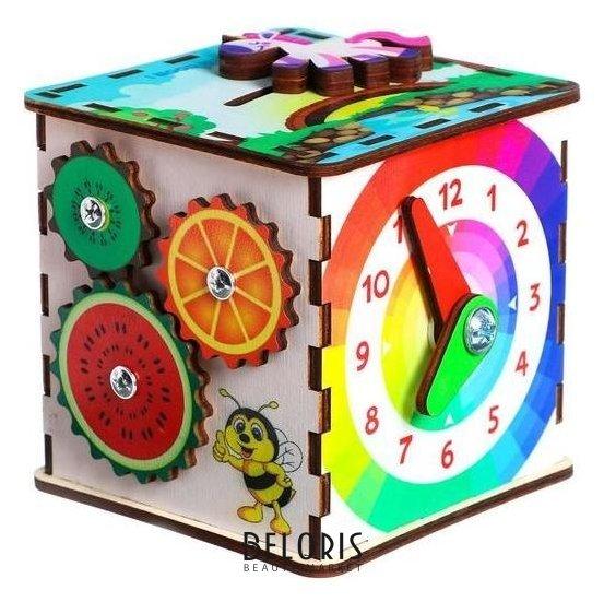 Бизикуб «Развивающий куб» Iwoodplay