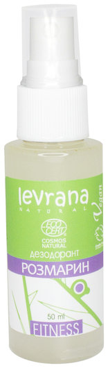 Натуральный дезодорант Розмарин  Levrana