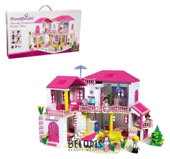 Конструктор для девочек «Загородный дом», 800 деталей NNB