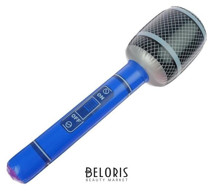 Игрушка надувная «Микрофон» 65 см, звук NNB