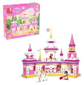 Конструктор «Розовая мечта: замок», 385 деталей