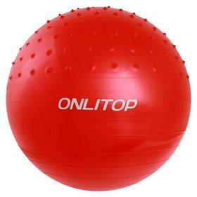 Мяч гимнастический массажный D=65 см, 1000 г  Onlitop