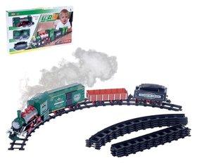 Железная дорога «Классик», со световыми, звуковыми и дымовыми эффектами, протяжённость пути 2,88 м