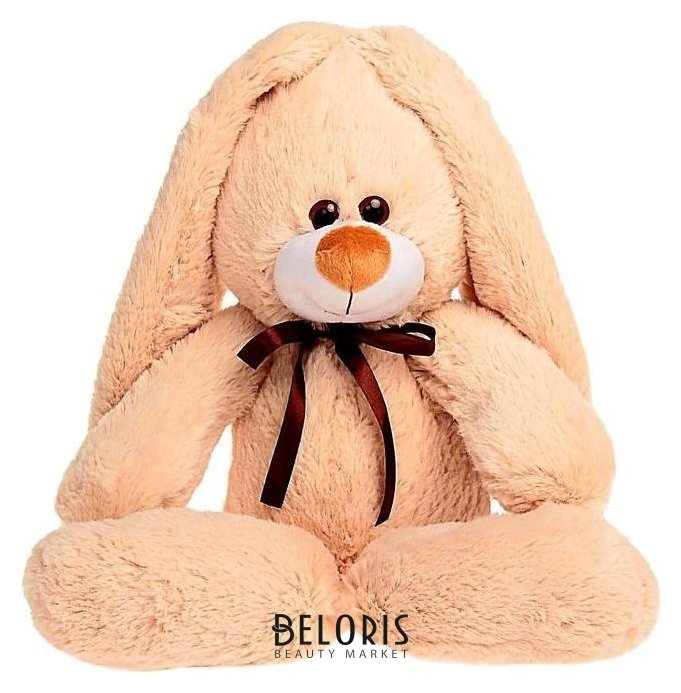 Мягкая игрушка «Заяц подарочный», цвет бежевый, 55 см Princess love