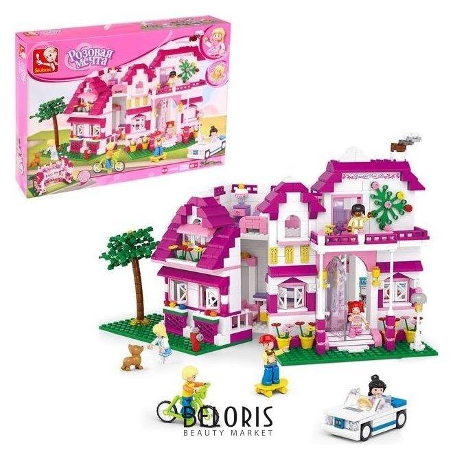 Конструктор «Розовая мечта: загородная вилла», 726 деталей Sluban