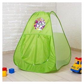 Детская игровая палатка «Давай играть», 71 х 71 х 88 см