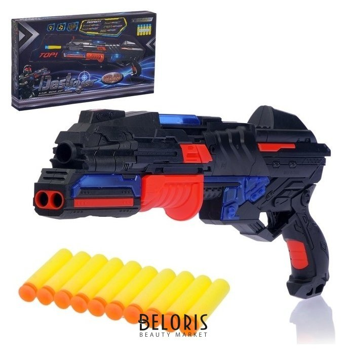 Бластер «Разрушитель», стреляет мягкими пулями, световые и звуковые эффекты NNB
